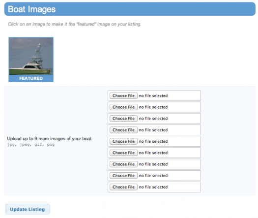 How to upload boat photos to Bay Boat Buzz